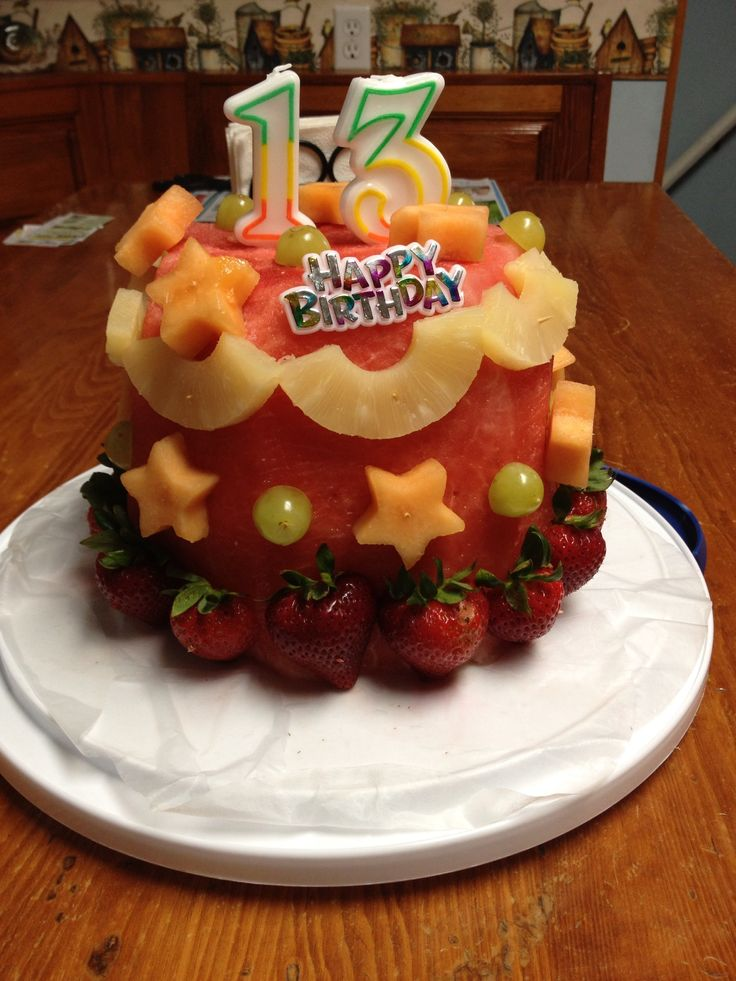 Healthy birthday cake! Cake Ideas Pinterest