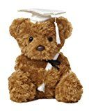 "Early Bird Special: Aurora World Plush Graduation Bear White Cap 8.5""  List Price: $9.99  Deal Price: $7.63  You Save: $1.18 (13%)  Aurora World Plush Graduation White  Expires Mar 11 2018"