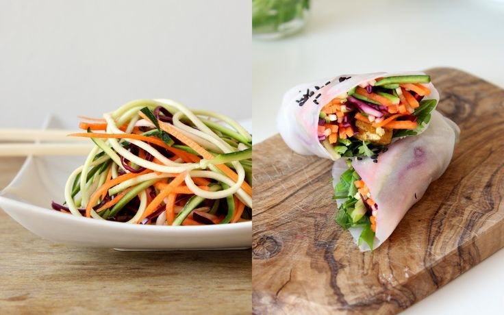 Asijské zeleninové nudle s marinovaným tofu