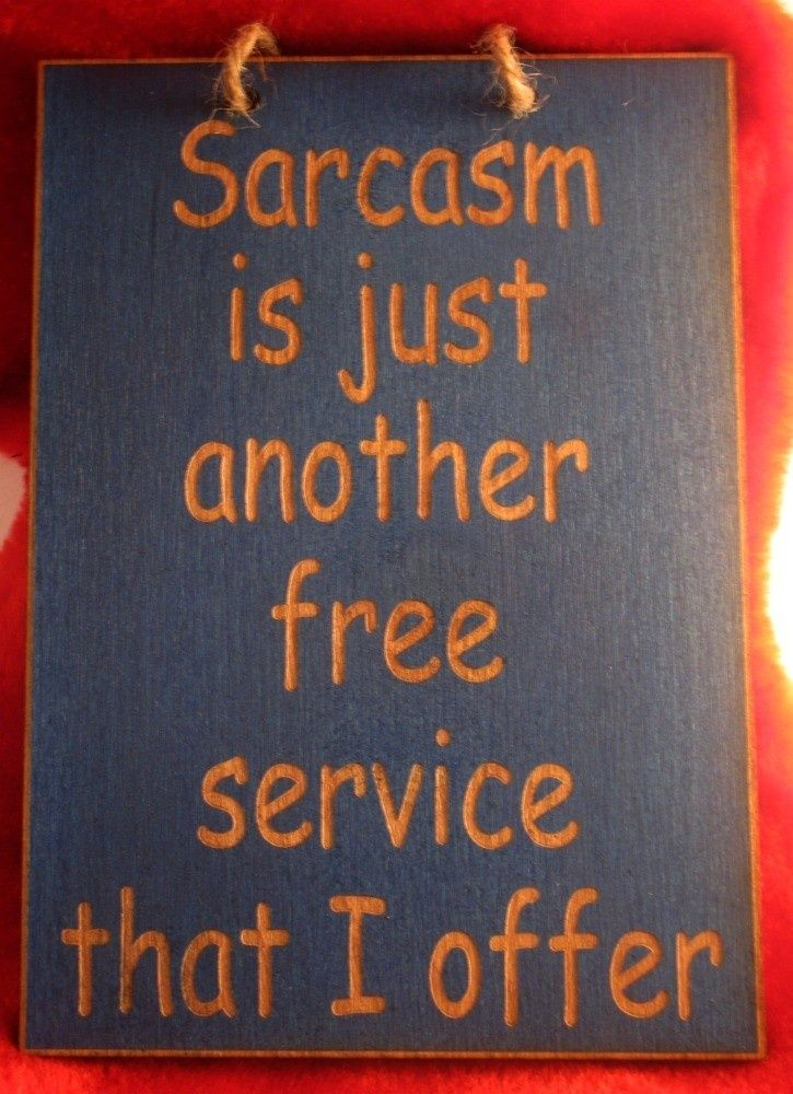 Funny Wood Signs with Sayings | ... is just another free service funny wooden sign. $7.25, via Etsy