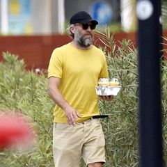 French actor Vincent Cassel seen in Ibiza