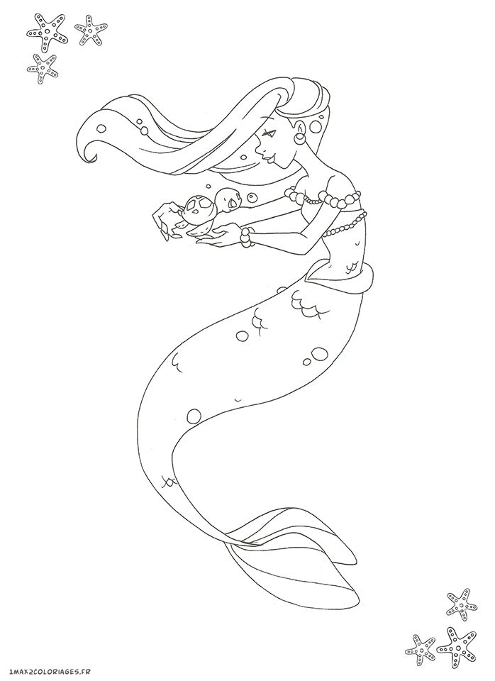 25 best ideas about coloriage sirene on pinterest croquis de sir ne dessin ariel and dessin - Dessin de sirene ...