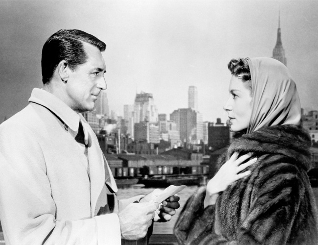 "An Affair to Remember- ""Winter must be cold for those with no warm memories... and we've already missed the spring!""Film, Romantic Movie, Empire States Buildings, Deborah Kerr, Remember 1957, Cary Grant, Black-Ti Affairs, Favorite Movie, Classic"