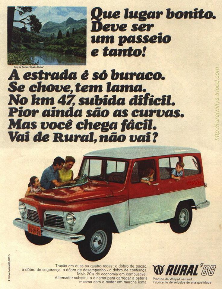 Willys Rural - Brasil