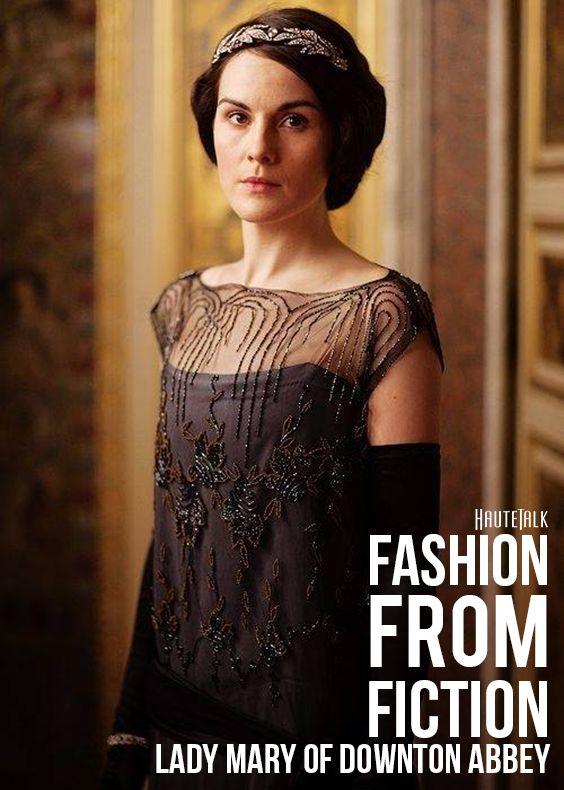 Fashion from Fiction: Downton Abbey's Lady Mary - HauteTalk.com