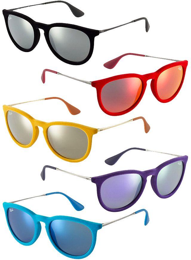 ray ban sunglasses velvet  obsess?o: ray ban erika velvet edition