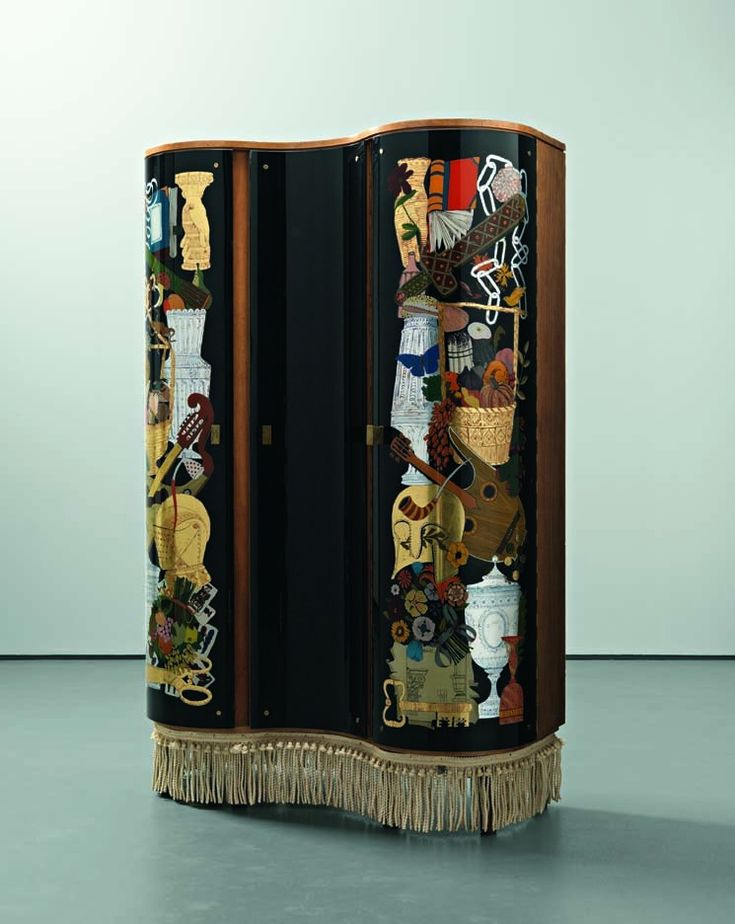 17 best images about gio ponti on pinterest auction armchairs and furniture - Fornasetti mobili ...