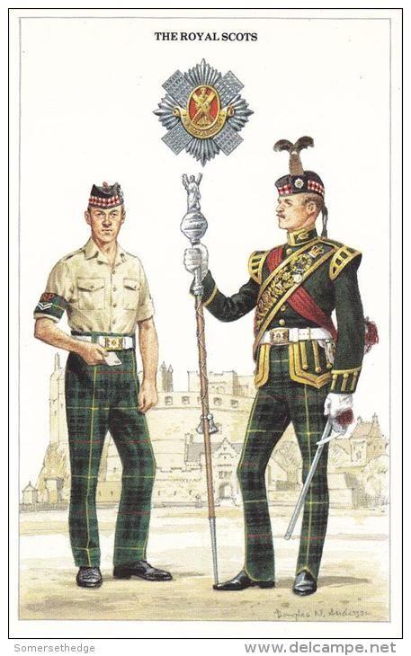 The Royal Scots, Corporal & Drum-Major.