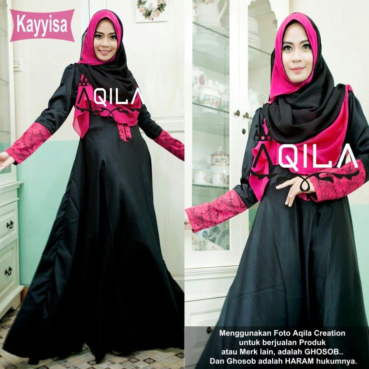Kayyisa 01  Set dress + hijab in black edition.  Idr. 265k  Contact us for details :  Line :  aqilacreation aqilahijab  Whatsapp :  +62-823-0000-9229 +62-823-0000-9191  Pin bbm : 5219beb8 5206ac0e  #hijabsyari #hijab #hijabtrend #jilbab #busanamuslimah #bajumuslimah #khimar #dress #gamissyari #aqilacreation #bergo #jilbab