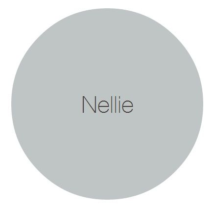 Nellie - A solid and safe grey against which to contrast whites or colours.