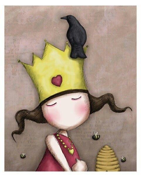 Queen of hearts- Gorjuss