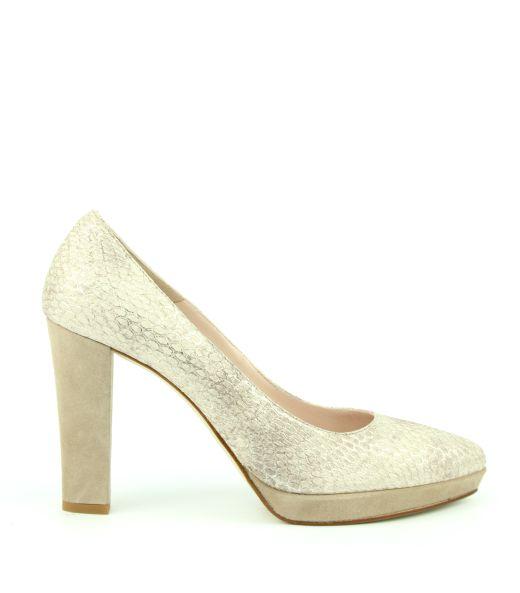 Lilian 10359B Pump met slangenprint #vanbommelschoenen #lilian #shoes #slangenprint #snakeskin