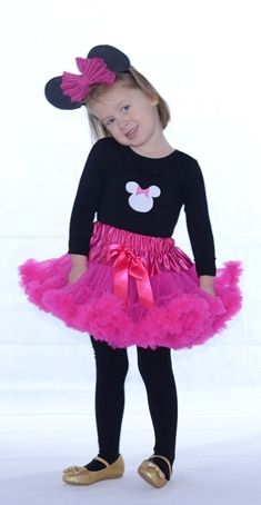 farsangi jelmez pink pettiskirt tütü Minnie mouse fancy dress jelmez Minnie egér disney