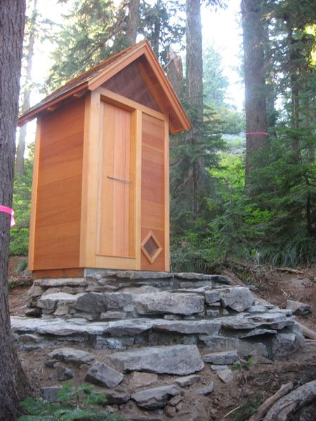 Cedar Outhouse Beautifully Built Little Cabin In The