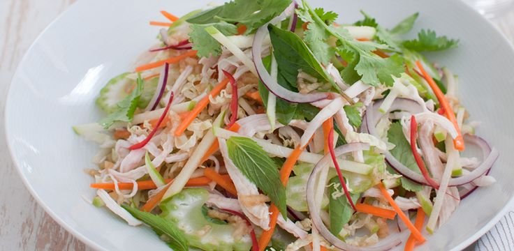 Free Recipe: Vietnamese Chicken Salad