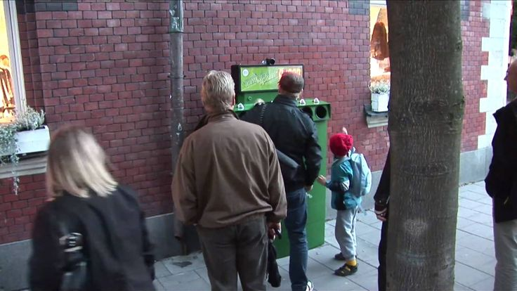 Bottle Bank Arcade - TheFunTheory.com - Rolighetsteorin.se