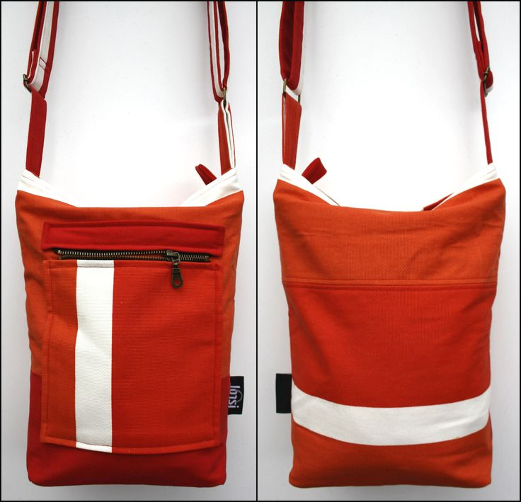Small  red cross-body bag