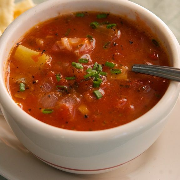 Pressure cooker Manhattan clam chowder.This delicious soup cooked in pressure cooker and uses quahog clams,also known as chowder clams,which have a firmer texture and stronger flavor than smaller littlenecks.