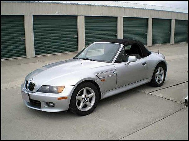 1998 bmw z3 roadster 28l189 hp bmw z3 1996 side aa