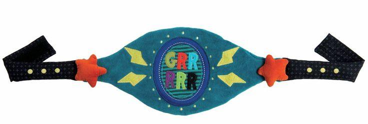 ceinture, grrrr, mardi-gras, déguisement, carnaval, déguiser, Moulin roty, super héros