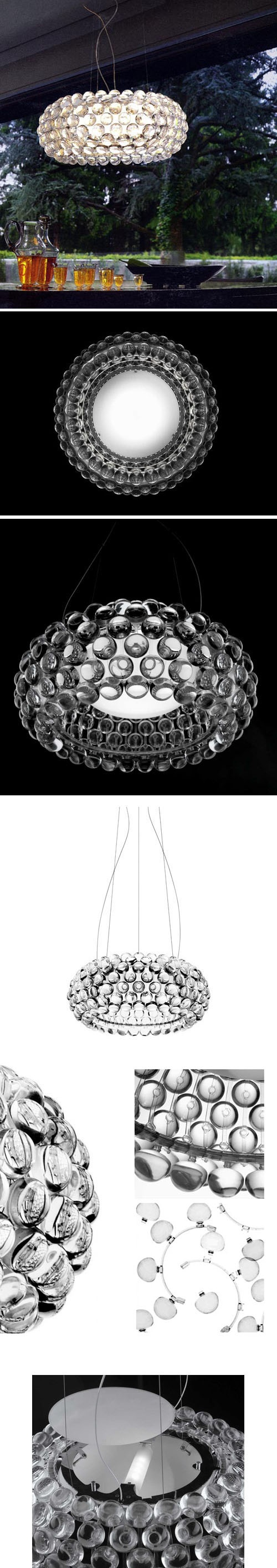 Love this caboche chandelier