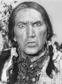 Frank DeKova is most known for playing Chief Wild Eagle on F-Troop.  His comedic talent was previously unknown as the Italian-American actor had always played gangsters, cowboys, bandits, Indians and Mexican warlords.