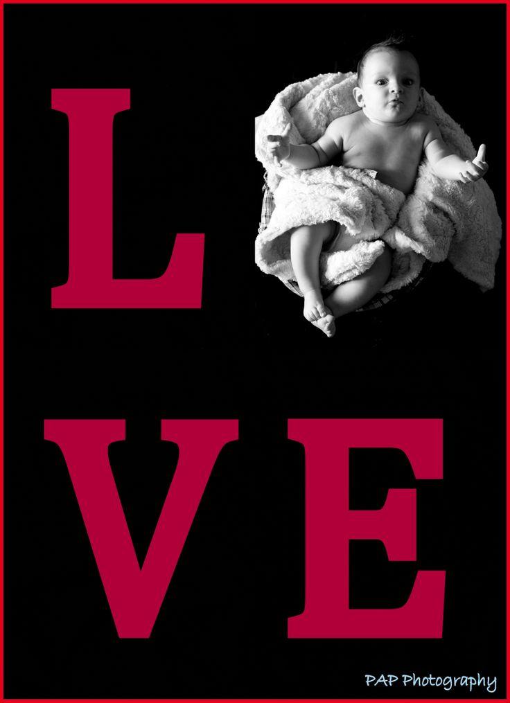 baby photo idea, love, baby love Pap Photography