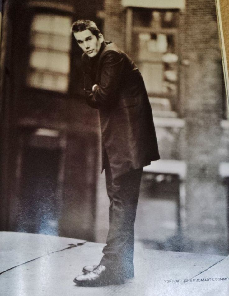 Ethan Hawke Celebrity Clipping Picture Photo Cutting Film Memorabilia Poster