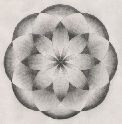 shading geometric pencil drawing by Original Identification, via Flickr