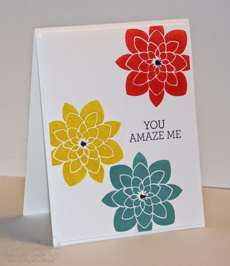 I love clean and simple. This one is so east to copy Crazy About You Photopolymer Bundle$42.25