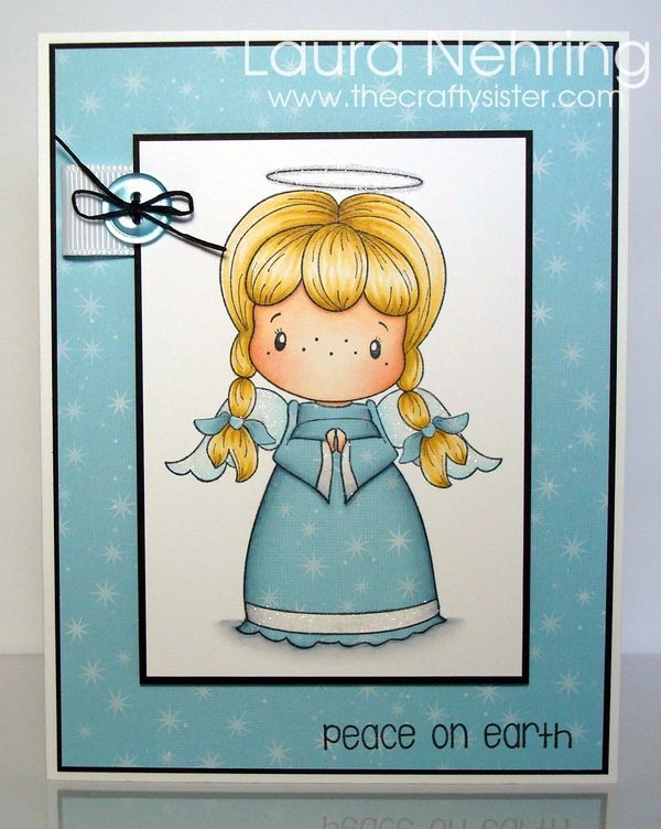 C.C. Designs - Peace On Earth Pixie