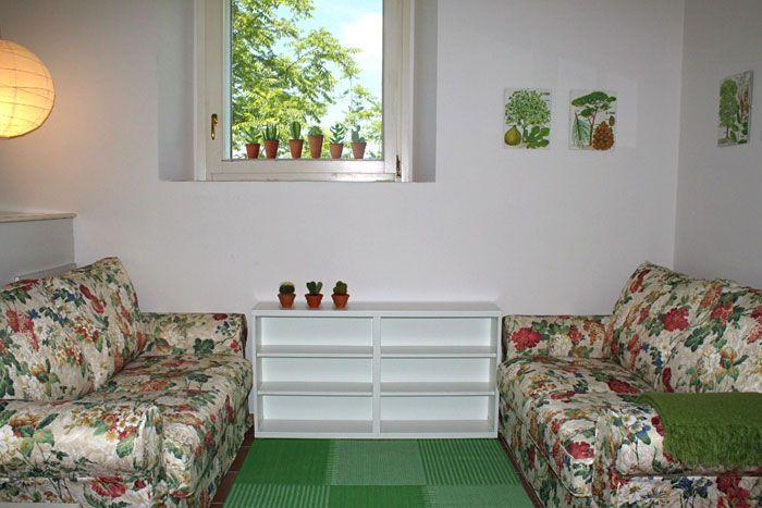 Casina Nuova sitting room - Urbino - Le Marche - Italy  www.vallenuova.it