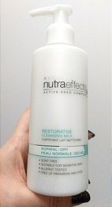 Avon Nutra Effects Restorative Cleansing Milk