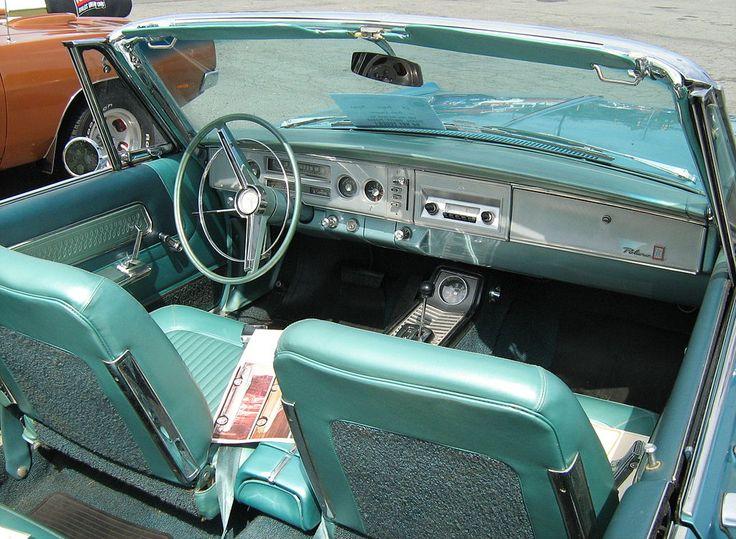1964 Dodge Polara 500 conv interior - Dodge Polara - Wikipedia, the free encyclopedia