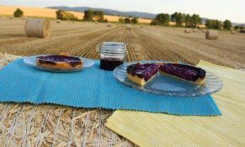 Finský borůvkový koláč
