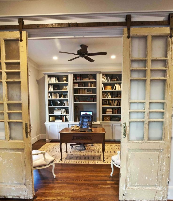 20 Home Offices With Sliding Barn Doors: Best 25+ Office Doors Ideas On Pinterest