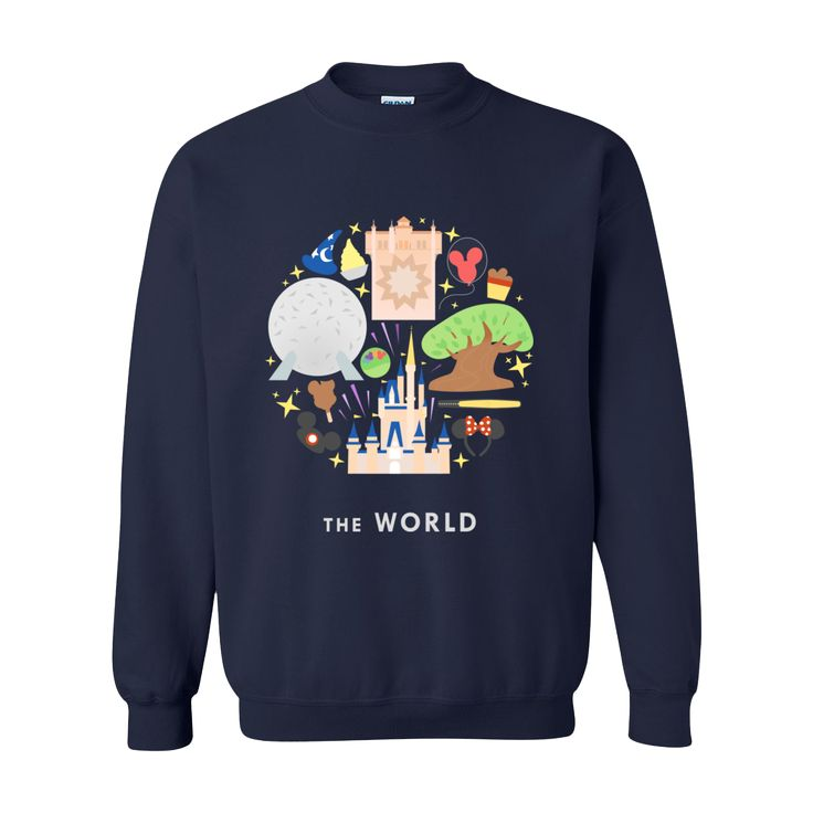 The World Disney Sweatshirt // thebucketlistnarratives.com