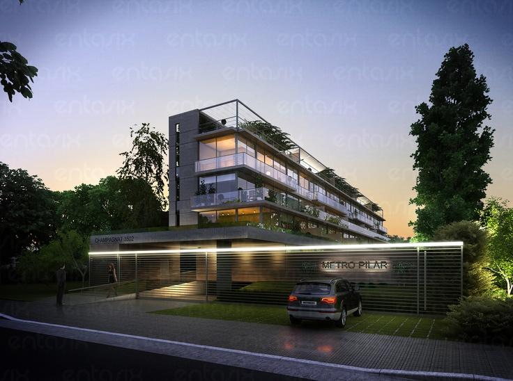 Proyecto Metro - - Edificio de viviendas en Pilar