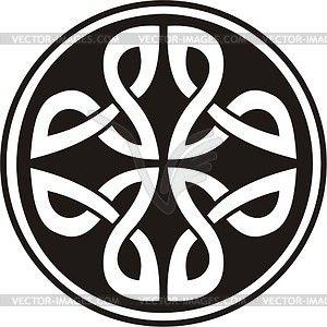 Кельтский кнот - векторный дизайн
