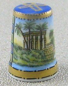 Ägypten & Pharao mit dem Motiv Tempel in Philai por delante