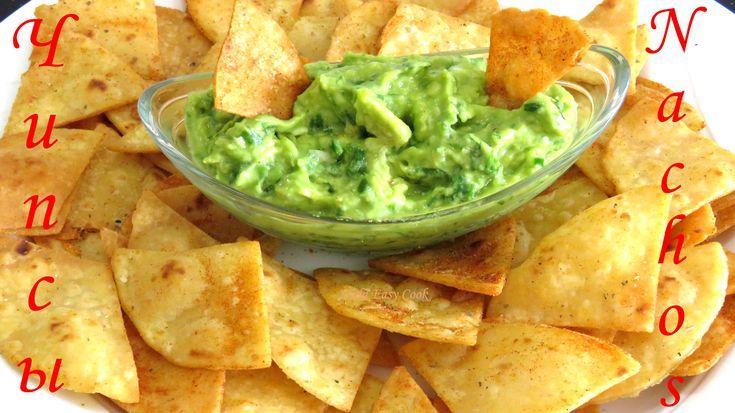 Кукурузные #чипсы - #Начос как приготовить Мексиканские чипсы [LudaEasyC...