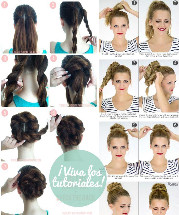 tutoriales peinados trenza