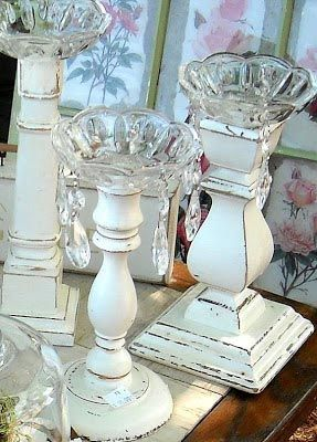 Make your own wooden candlesticks Home and Garden Digest http://www.homeandgardendigest.com/make-some-custom-candlesticks-for-your-mantle/