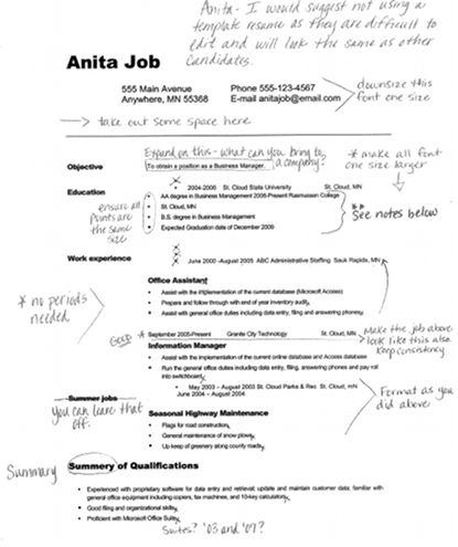 9 best The job hunter images on Pinterest Productivity, Career - example of college resume