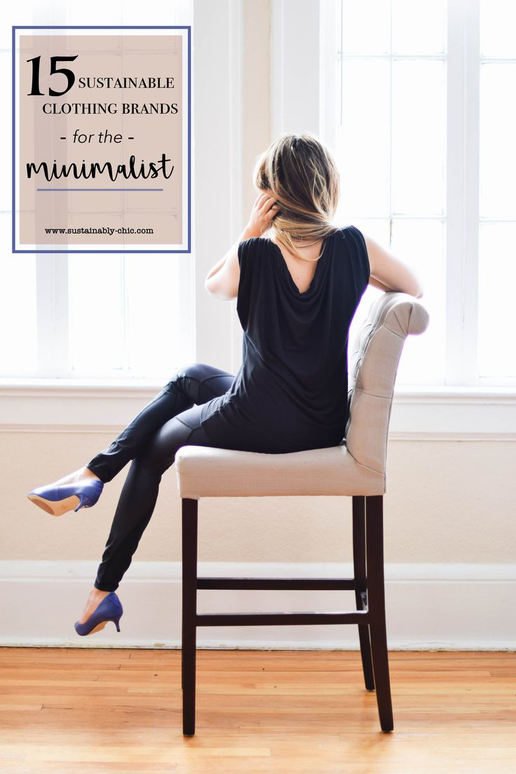 15 Sustainable Clothing Brands For The Minimalist