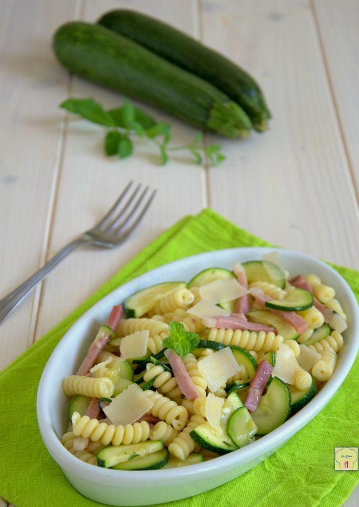 pasta fredda zucchine e speck gp