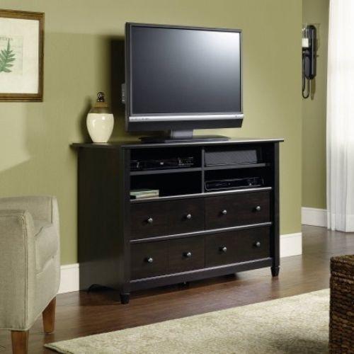 TV Stand Center Wood Storage Console Media Furniture Home Entertainment Cabinet #Sauder