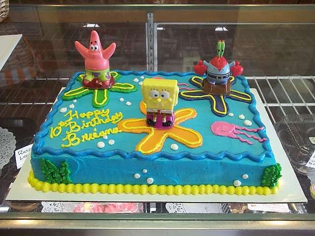 Wichita Bakery Birthday Cake