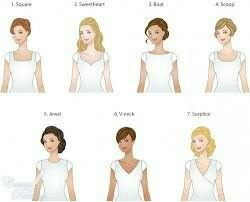 Best necklines for broad shoulders