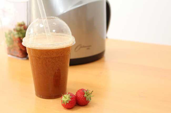 Juice Cleanse: Strawberry Sunset Juicing Recipe